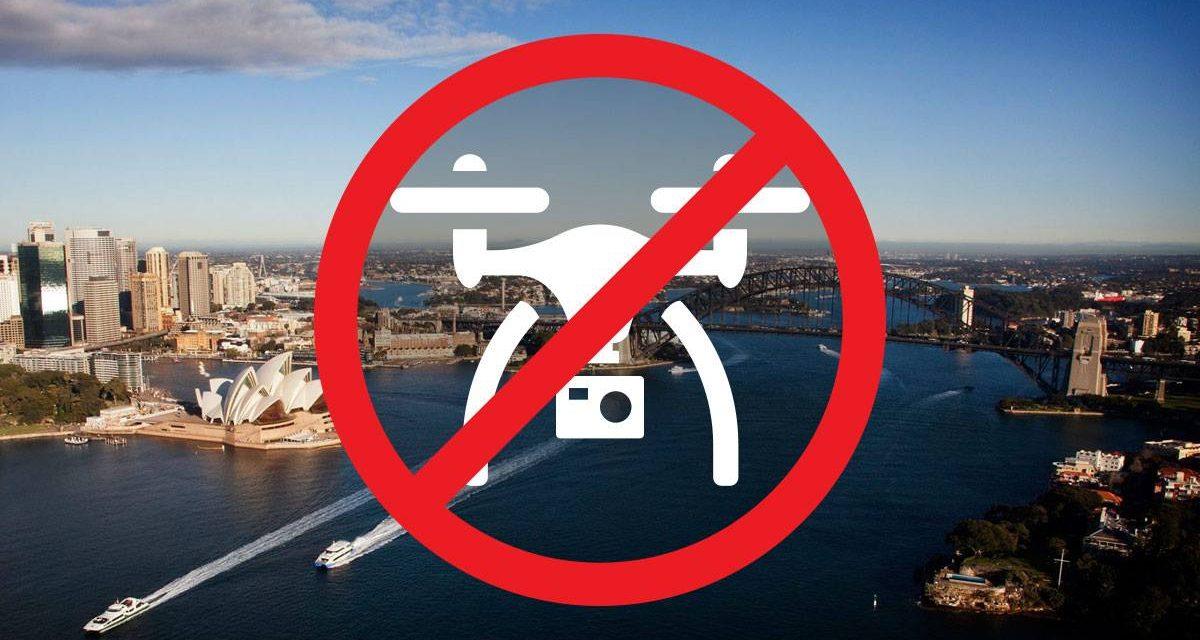 in aceste tari dronele sunt interzise